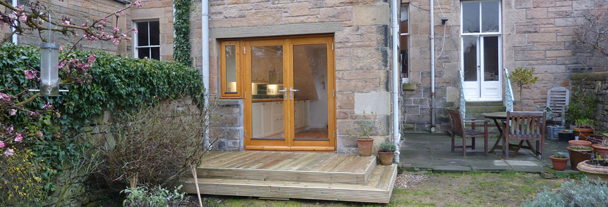 house extensions from ARJ Building Edinburgh